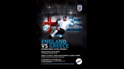 England v Greece, Futsal international