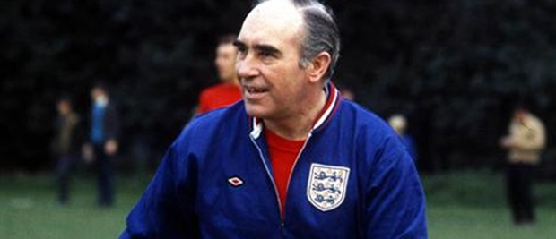 Sir Alf Ramsey led England to World Cup success in 1966.