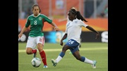 Eniola Aluko in action for England at the FIFA Women's World Cup 2011.