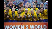 Sweden win third place at the World Cup.