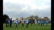 The England Under-23s receive a few pointers from Head Coach Brent Hills.
