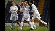 Laura Coombs' brace helped England to a 3-1 victory over Slovakia.