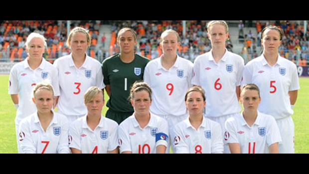 England line up ahead of their semi-final showdown
