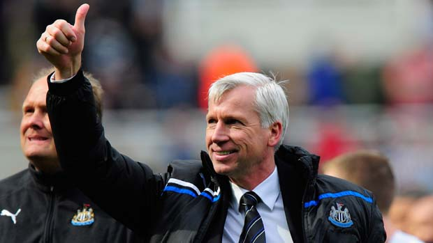 Newcastle United manager Alan Pardew.