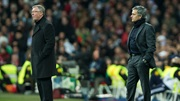 Sir Alex Ferguson and Jose Mourinho meet at the Bernabeu