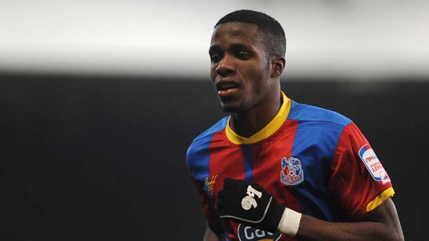 Crystal Palace winger Wilfried Zaha.