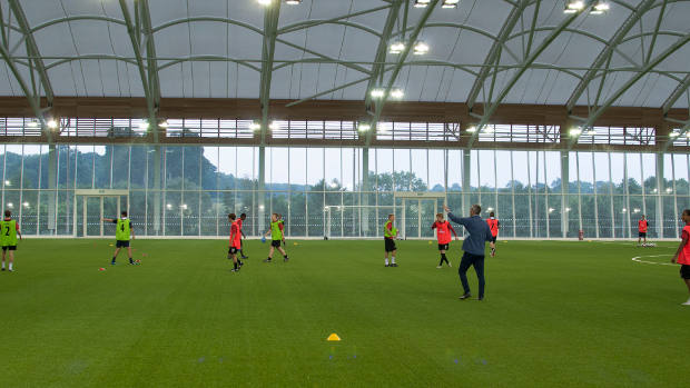 FA UEFA A-License Course held at St. George's Park