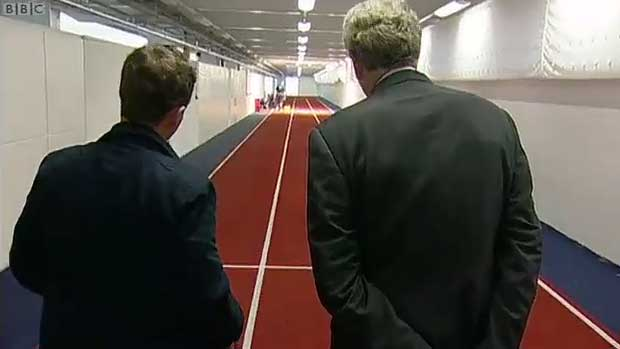 BBC Breakfast at St George's Park