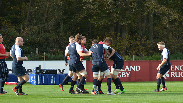 England rugby union team at St. George's Park