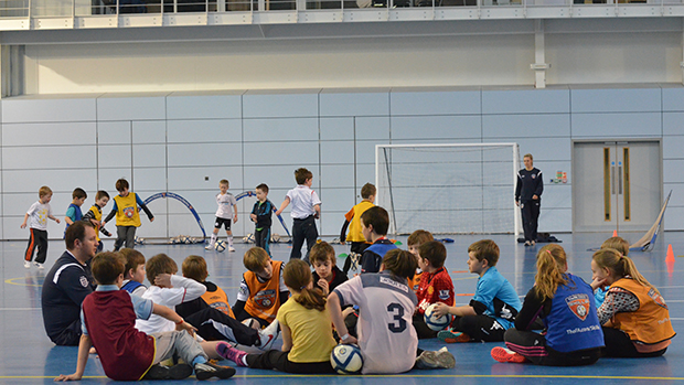 The FA Tesco Skills Programme at St. George's Park