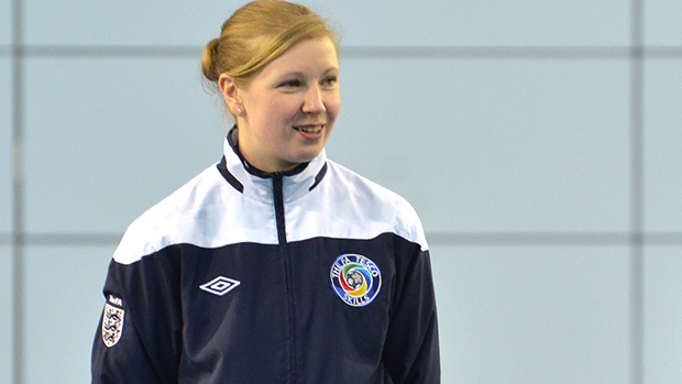 FA Tesco Skills Team Leader, Jenna Martin