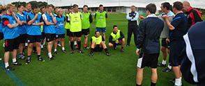 UEFA B License at St. George's Park