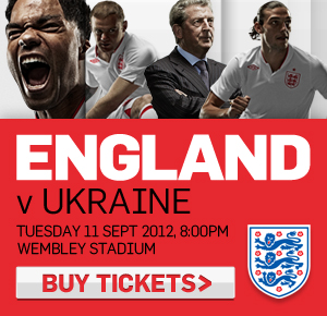England v Ukraine tickets