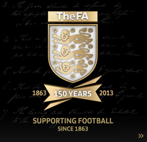 The FA celebrates its 150th Anniversary.