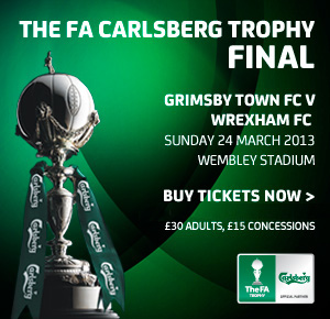 Buy Tickets for The FA Carlsberg Trophy Final