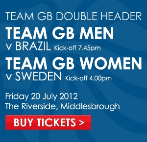 Team GB Double-Header at Boro