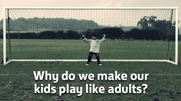 kids football is changing
